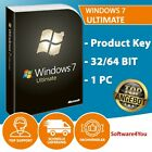 Windows 7 Ultimate 32/64 Bits Product Key - Win 7 Ultimate OEM Lizenzschlüssel Preis Sofortkauf:  - 4,99 €*
